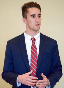 Brady Davis, Business Management major at UMaine