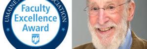 UMaine Alumni Association Faculty Excellence Award Recipient Professor Douglas Allen