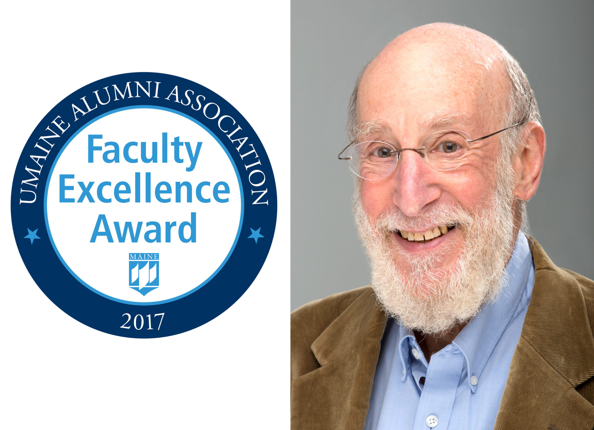 UMaine Alumni Association Faculty Excellence Award Recipient Professor Douglas Allen