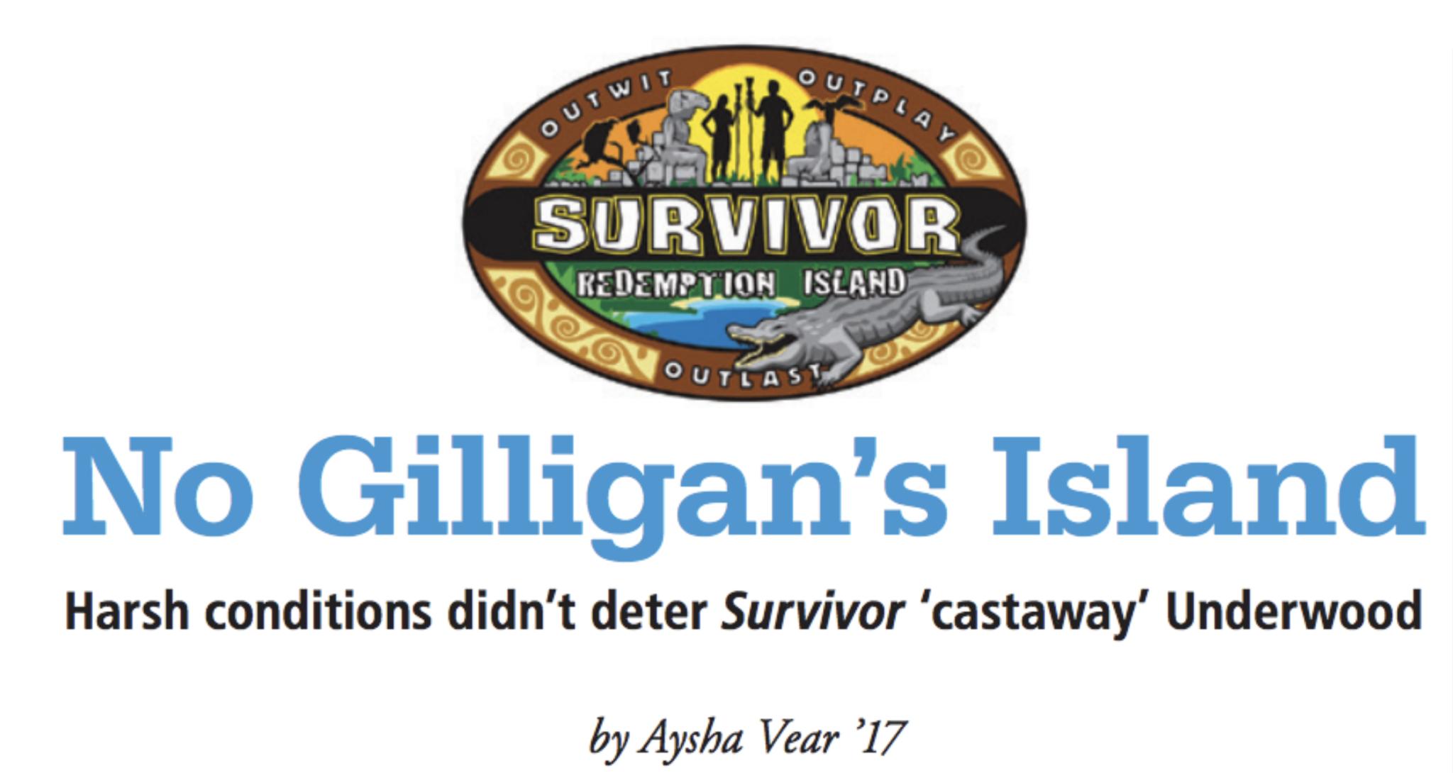 No Gilligan's Island