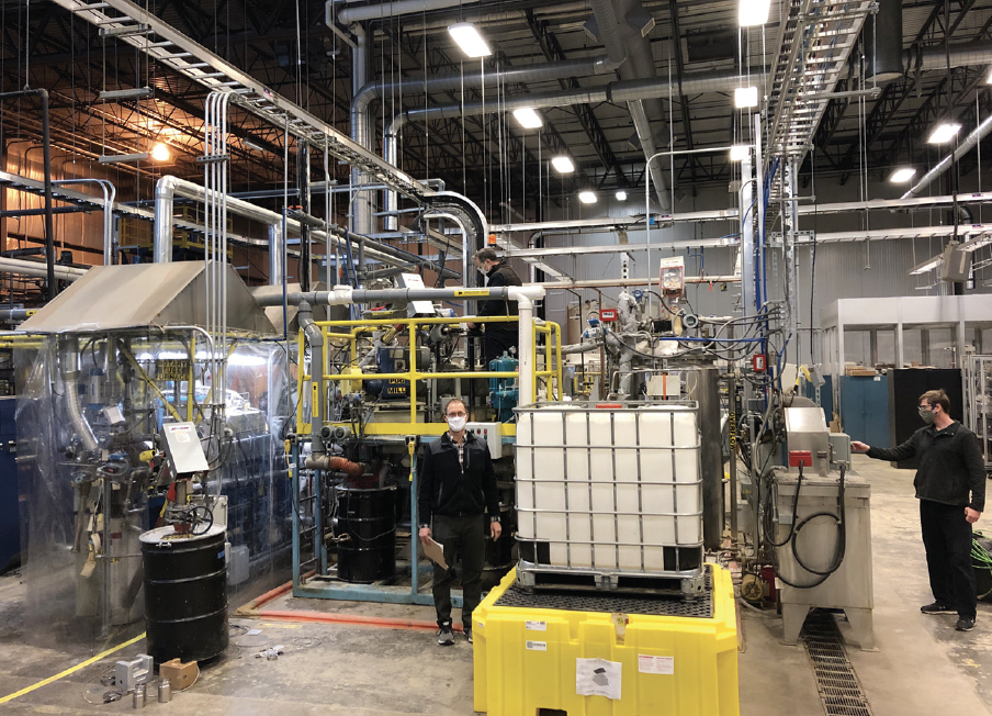 Bioproducts Research Institute Receives Equipment Upgrade