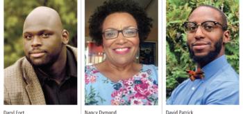 Daryl Fort, Nancy Diamond, and David Patrick