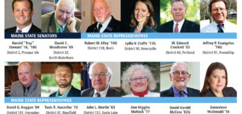 Headshots of UMaine Alumni members in the Maine State Legislature