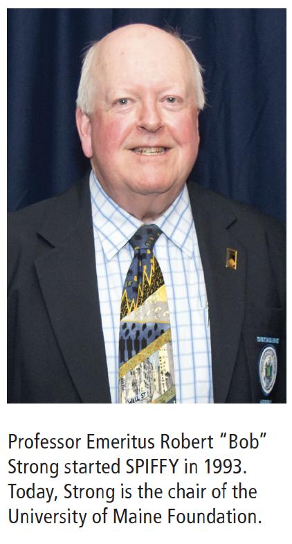 Professor Emeritus Robert Bob Strong started SPIFFY in 1993